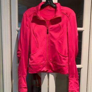 Lululemon pink zip up. Size 6